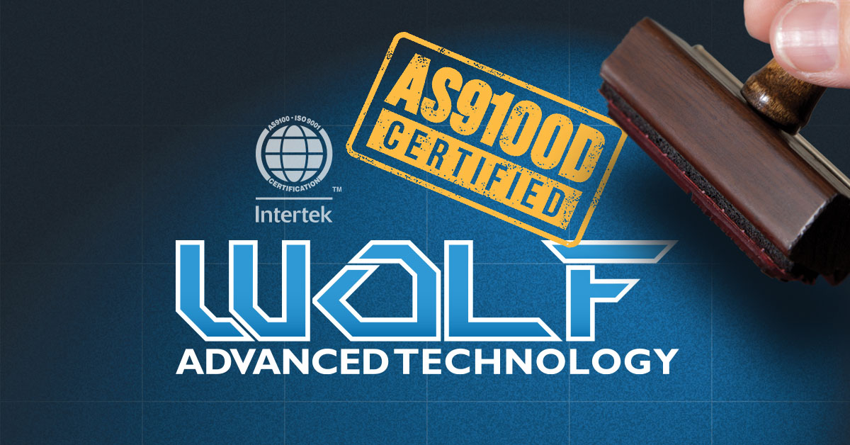 WOLF AS9100D Certification