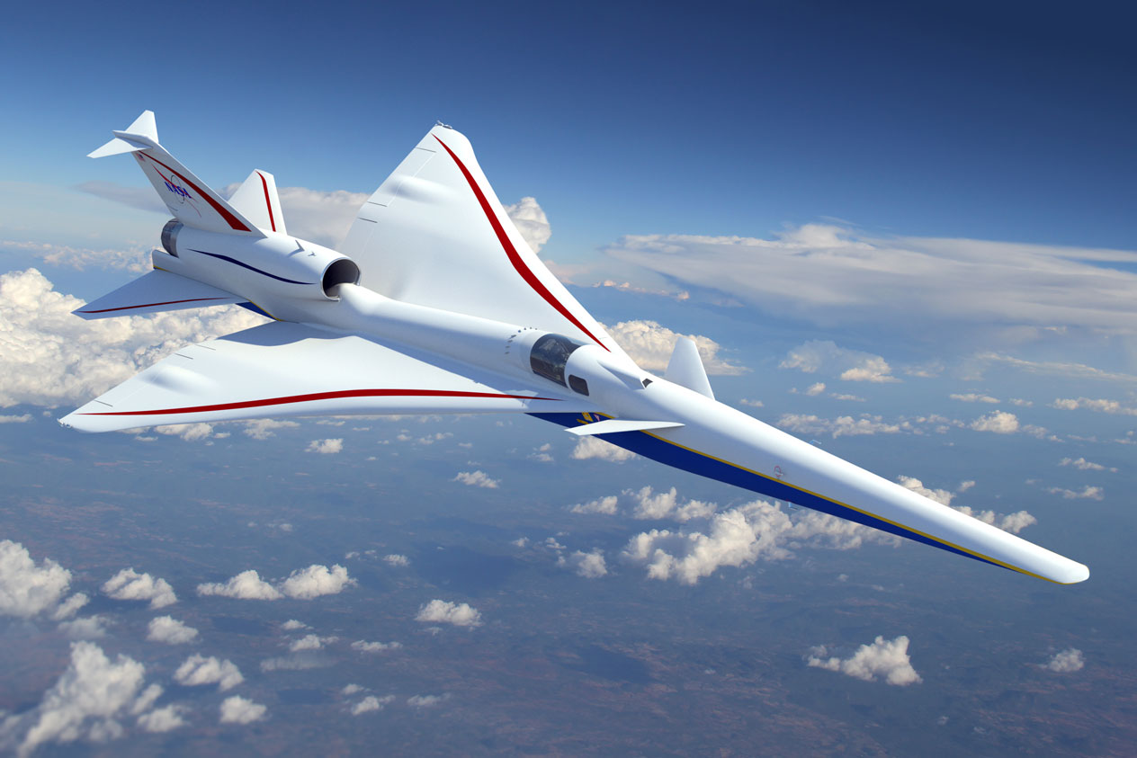 NASA's X-59 Quiet SuperSonic Technology (QueSST) aircraft