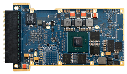 3U VPX with NVIDIA Quadro P2000 embedded design
